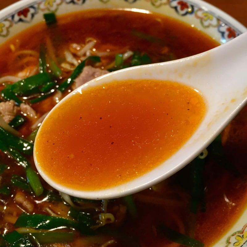 拉麺桜木屋 秋田店 秋田市仁井田 ニラそば スープ