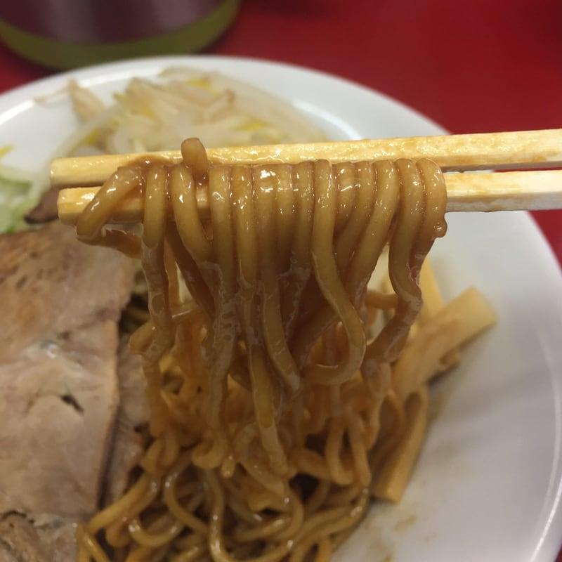 らーめん ジル 秋田市茨島 油そば 麺