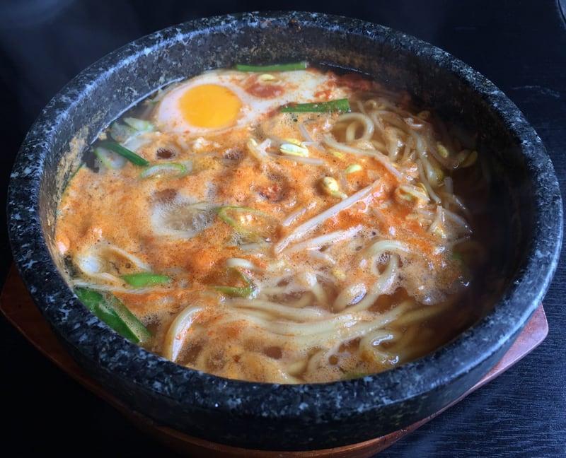 本場手づくり 韓国料理 あけみ家 秋田県湯沢市 石焼ラーメン Bセット