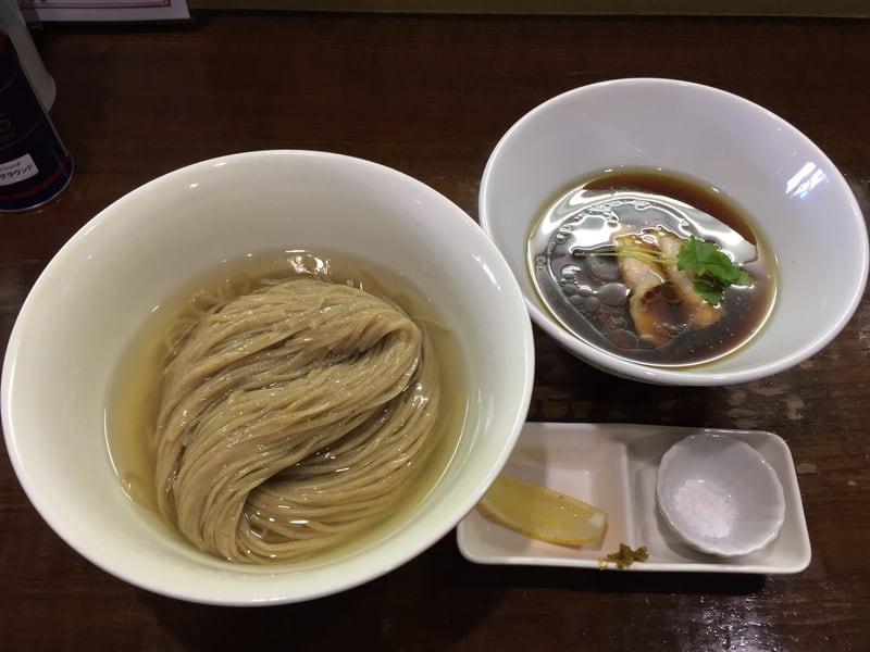 らあめんサンド 岩手県盛岡市西青山 とろとろ昆布出汁のからませつけ麺 昆布水つけ麺
