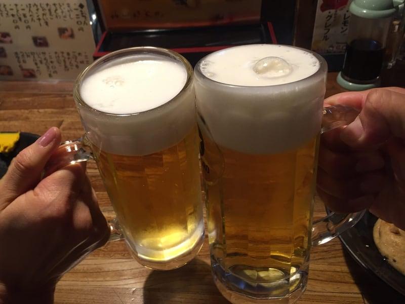 おでん三吉 宮城県仙台市青葉区一番町 生ビール 乾杯