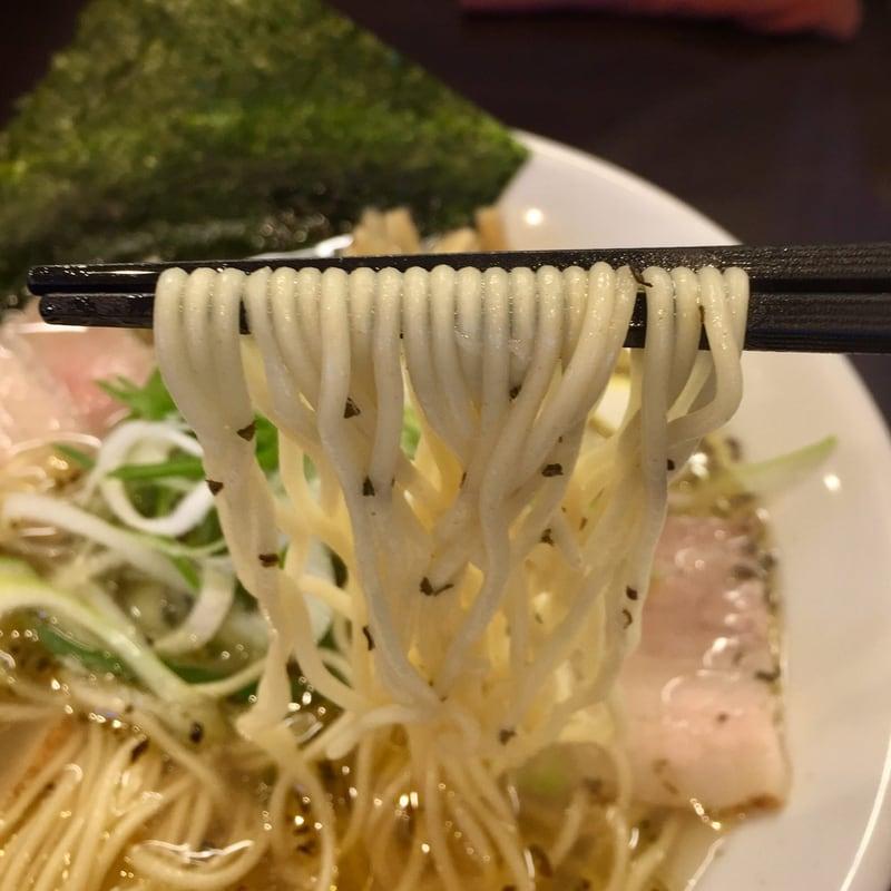 麺屋 蓮 秋田県秋田市卸町 バジル塩 塩ラーメン 麺