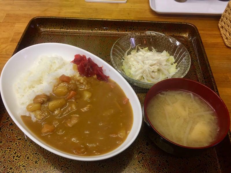 お食事の店 ティアラ 秋田県南秋田郡八郎潟町 カレーライス