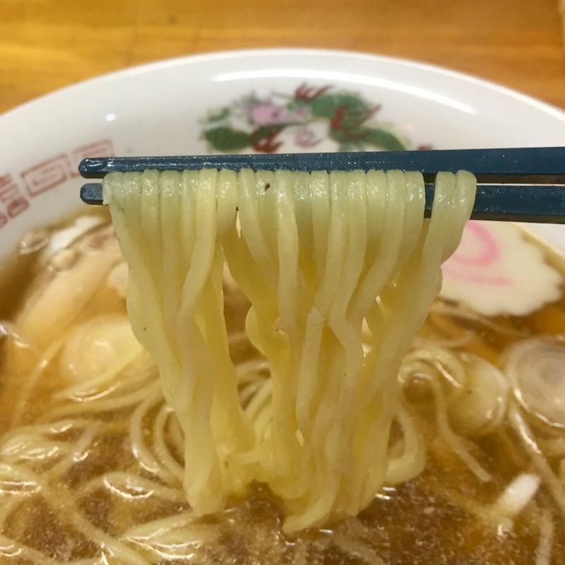お食事の店 ティアラ 秋田県南秋田郡八郎潟町 ラーメン(醤油) 醤油ラーメン 麺