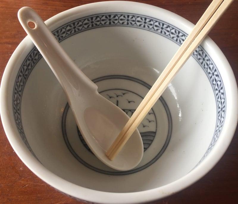 草月 そうげつ 秋田県湯沢市稲庭町 草月ラーメン 完食