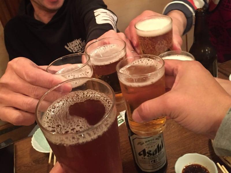 久米食堂 秋田県湯沢市上院内 乾杯
