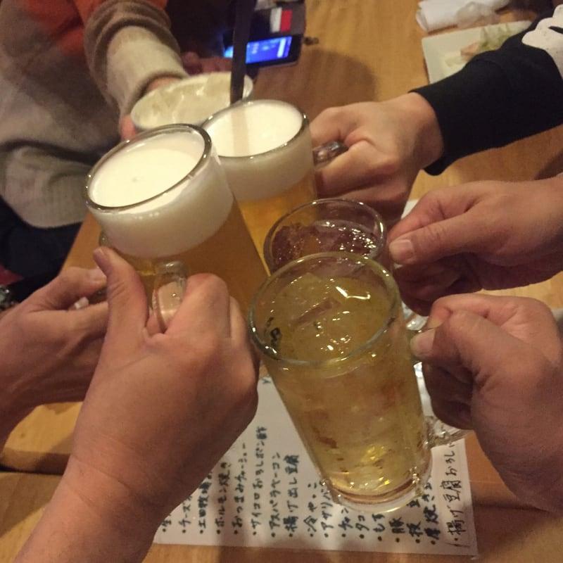 居酒屋 炭炭 炭々 たんたん 秋田県雄勝郡羽後町 二次会 乾杯