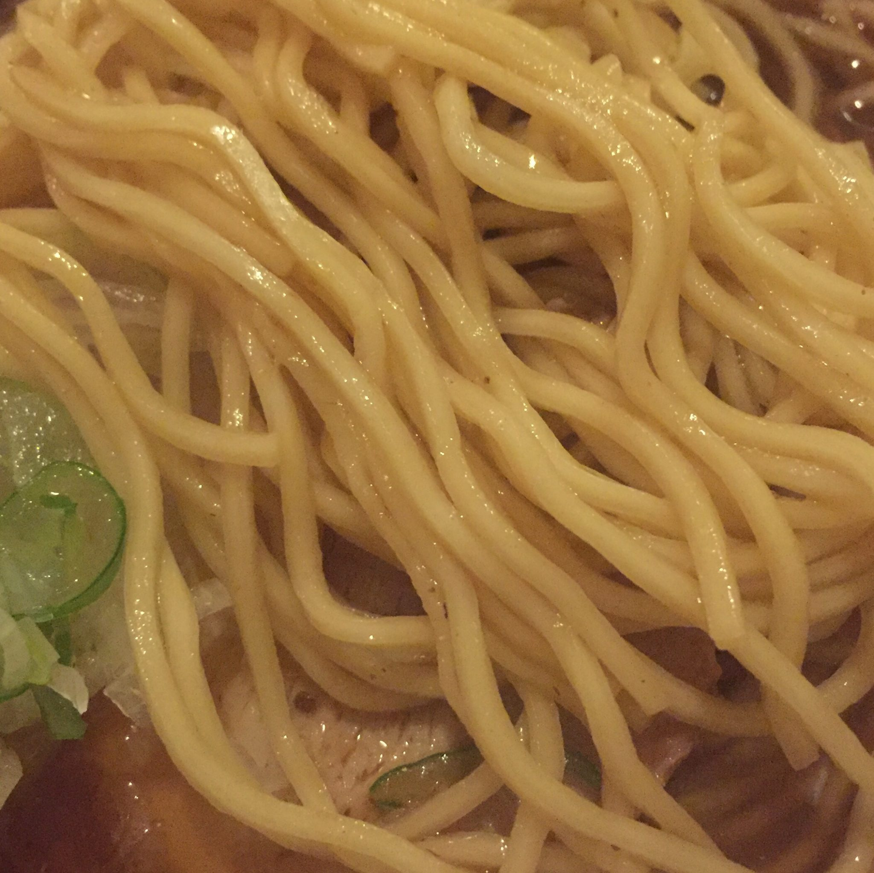 居酒屋 炭炭 炭々 たんたん 秋田県雄勝郡羽後町 伊藤系肉そば 麺