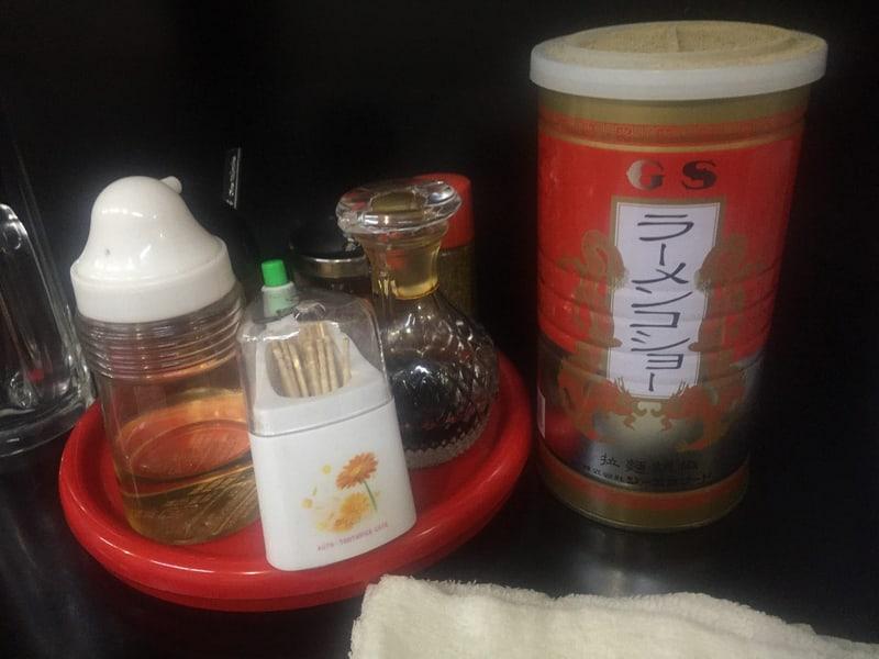 大勝食堂 だいしょうしょくどう 秋田県秋田市山王 マーボーメン 麻婆豆腐 味変 調味料