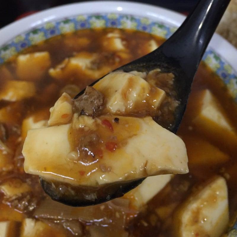 大勝食堂 だいしょうしょくどう 秋田県秋田市山王 マーボーメン 麻婆豆腐 具