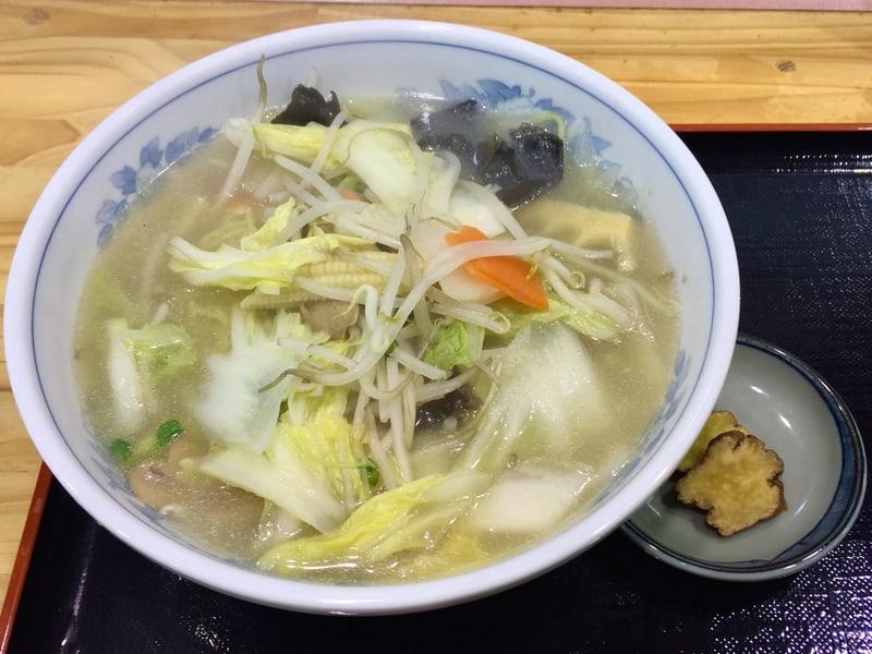 福龍 道の駅十文字店 秋田県横手市十文字町 タンメン