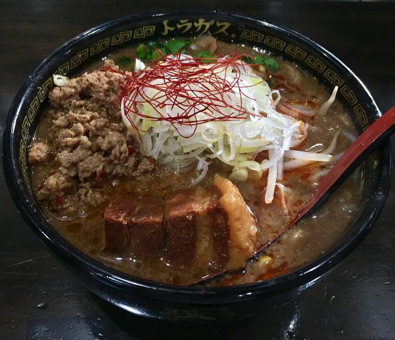 トラガス。 秋田県湯沢市西新町 みそ担担麺