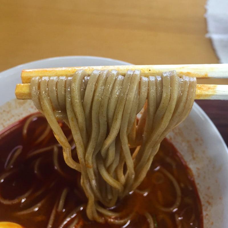 めん処 トレザ 秋田県秋田市仁井田 辛いカレーそば 蕎麦 麺