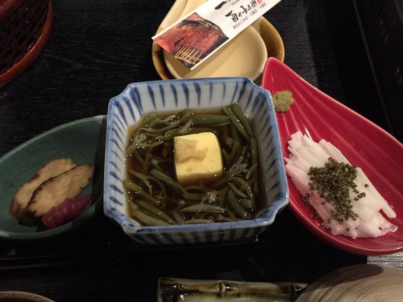 一の酉 川反店 秋田市大町 秋田の味コース いぶりがっこ ちょろぎ じゅんさい酢 とんぶり山芋