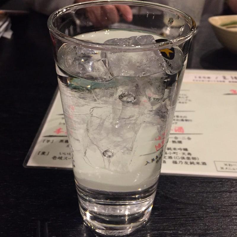 一の酉 川反店 秋田市大町 秋田の味コースからり芋 水割り
