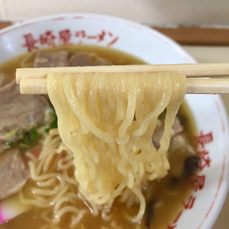 屋台ラーメン 長崎屋 三重県津市雲出島貫町 しょうゆラーメン 醤油ラーメン 麺