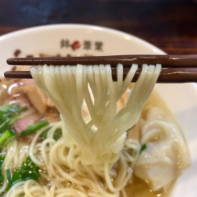 らーめん 鉢ノ葦葉 はちのあしは 三重県四日市市城北町 塩らー麺 自家製麺