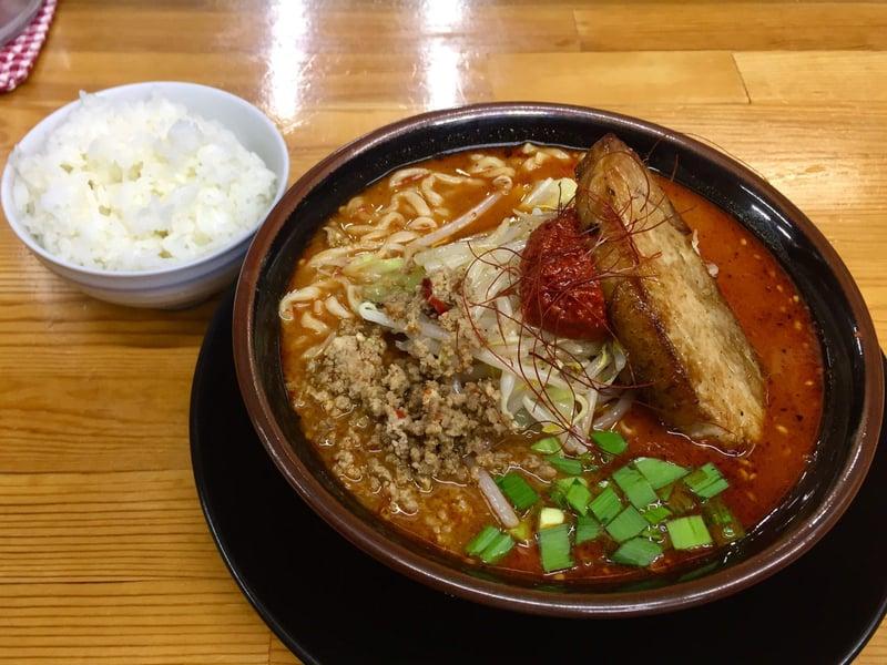 ラーメン・つけ麺 爆王 岐阜県関市倉知 しびれベトコンラーメン 誤爆 小ライス