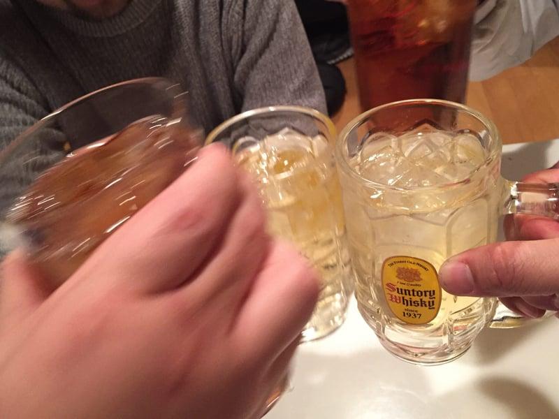 初代まるよし 秋田県横手市中央町 ハイボール 乾杯