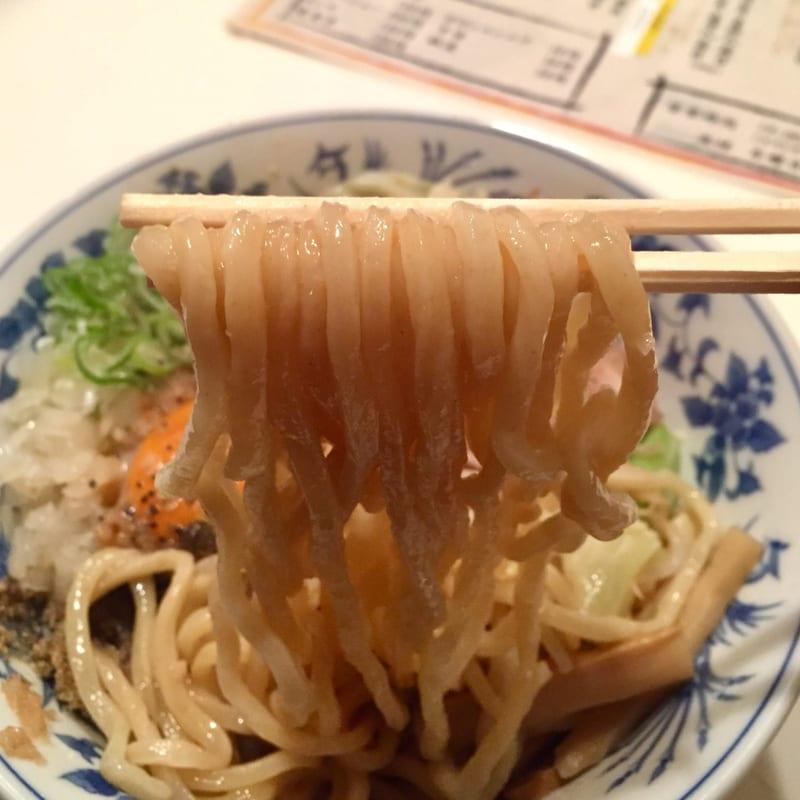 初代まるよし 秋田県横手市中央町 和え麺 麺