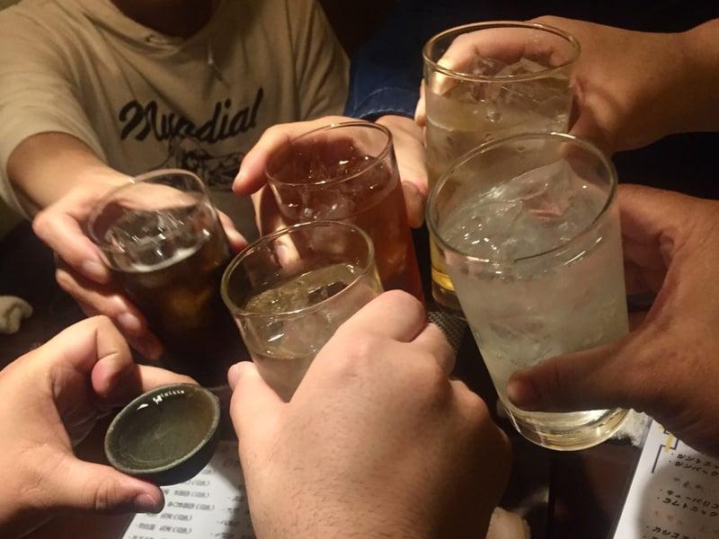 酒膳屋 古燈 ことう 福島県福島市置賜町 ラムトニック 乾杯