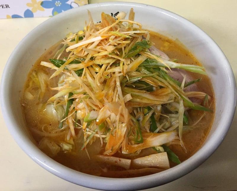 ラーメン・定食 将 秋田県湯沢市裏門 ネギみそ麺 ネギ味噌ラーメン