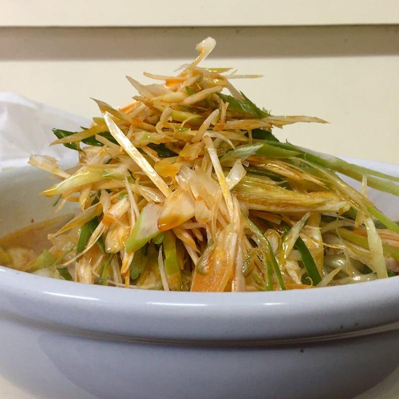 ラーメン・定食 将 秋田県湯沢市裏門 ネギみそ麺 ネギ味噌ラーメン 具