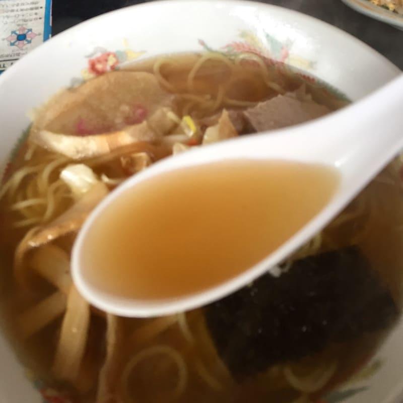 高幸食堂 秋田県大仙市豊川猫沢 味噌ラーメン スープ