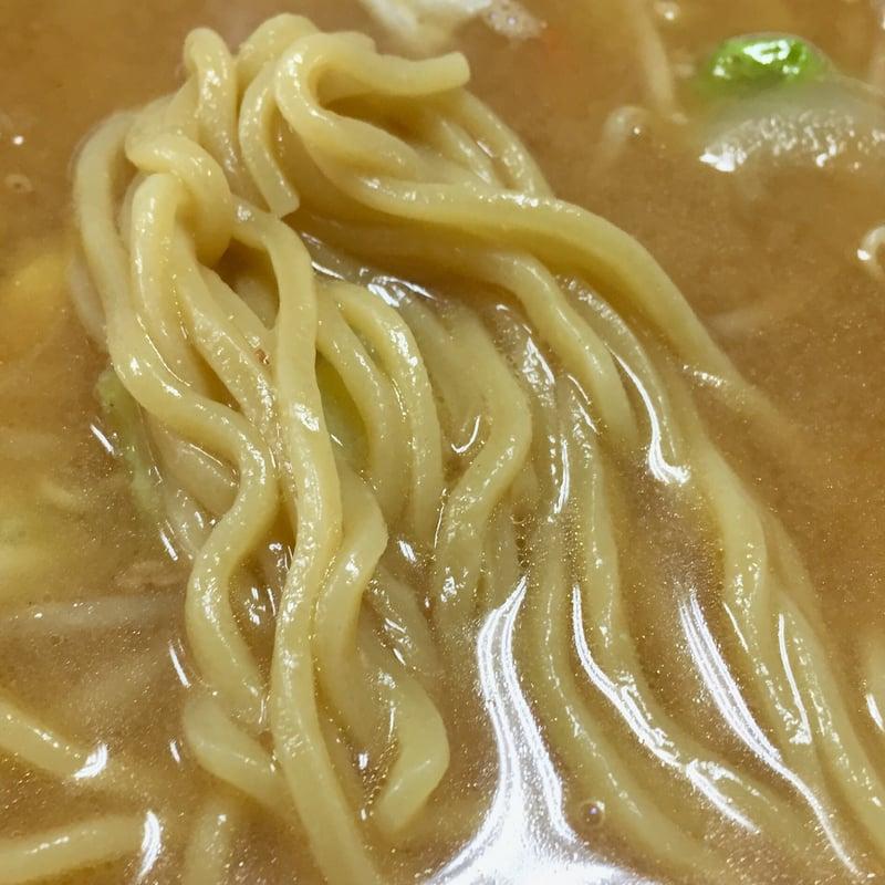 つばくら食堂 秋田県横手市増田町 みそラーメン 味噌ラーメン 麺