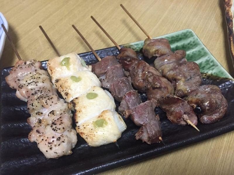 心の味 慶 よろこび 秋田県湯沢市表町 串焼き おまかせ五本セット