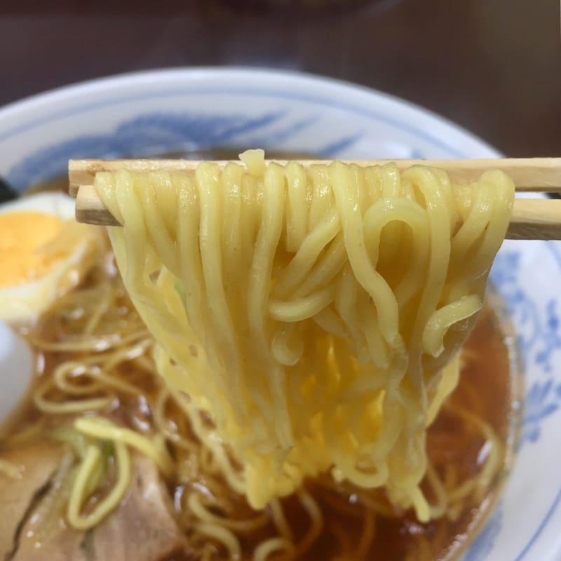 南外ふるさと館食堂 秋田県大仙市南外 中華そば 麺