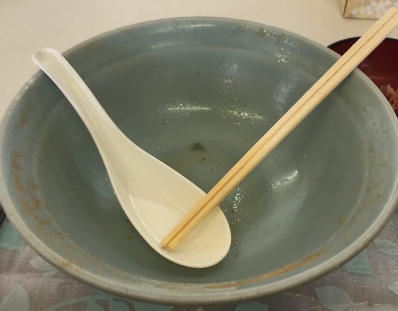 中園食堂 秋田県秋田市山王中園町 味噌タンメン 完食