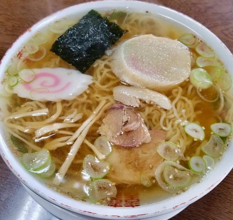 つばくら食堂 秋田県横手市増田町 昔ながらの中華そば
