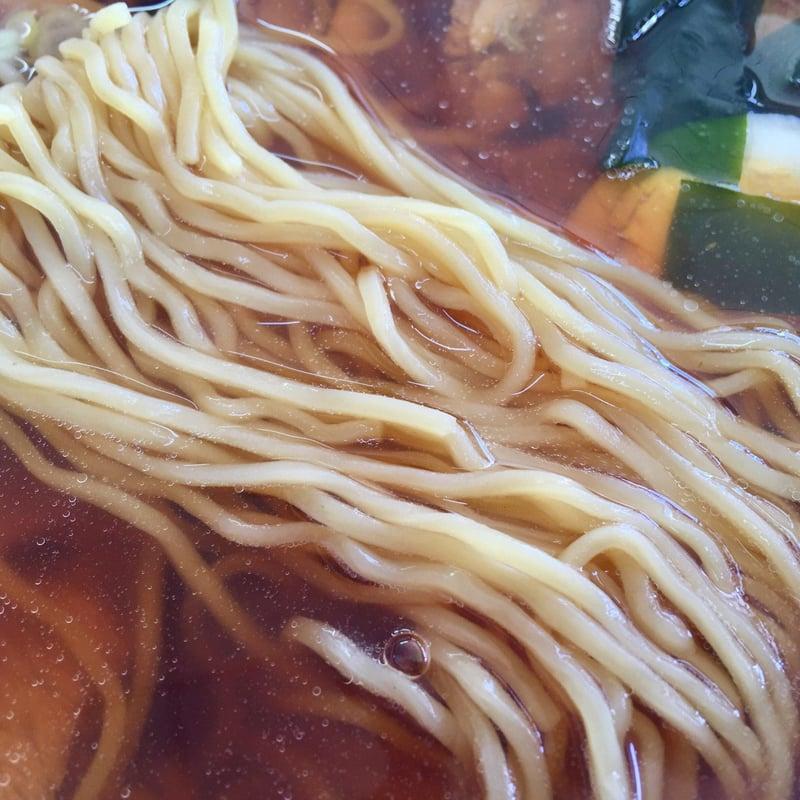 土井食堂 土井冷菓 秋田県にかほ市象潟町 中華そば 麺