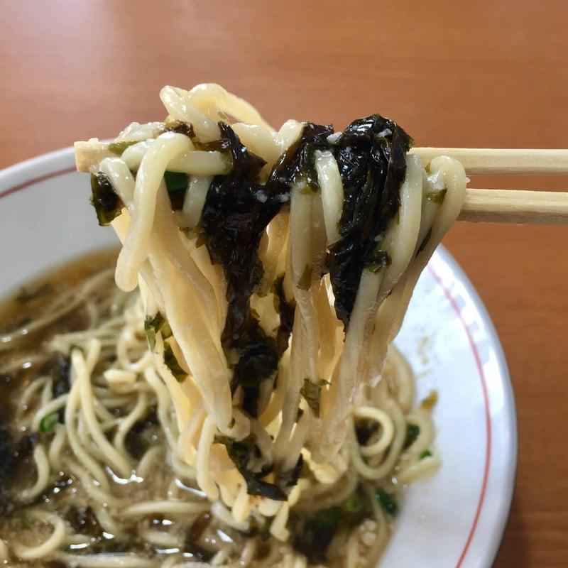 自家製麺 ラーメン玄武 げんぶ 秋田県大仙市四ツ屋 煮干し中華そば 麺