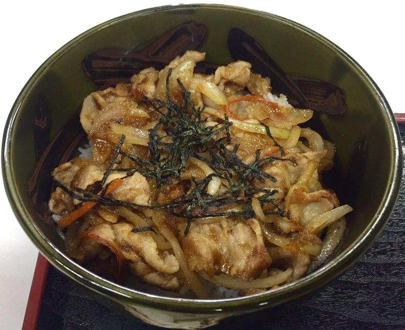味の更科家 秋田県秋田市手形山崎町 焼き肉丼 セット