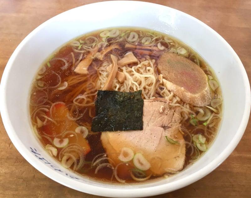 民宿かわばた食堂 秋田県湯沢市沼樋 ラーメン 醤油ラーメン