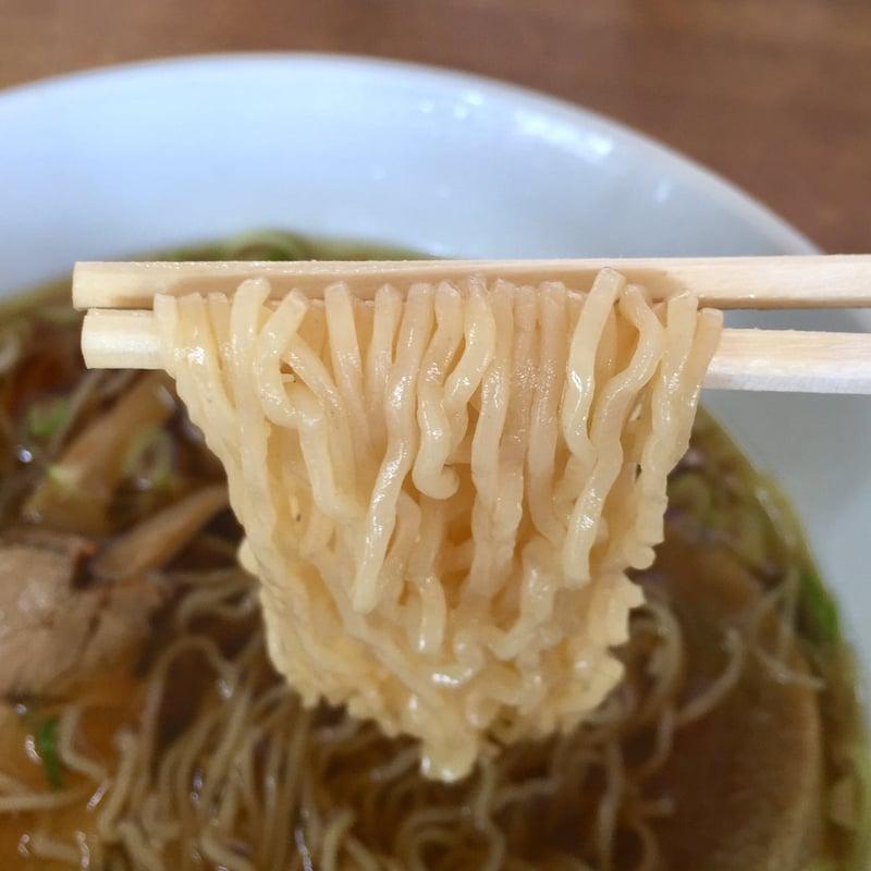 民宿かわばた食堂 秋田県湯沢市沼樋 ラーメン 醤油ラーメン 麺