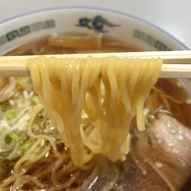お食事処 わんたん屋 秋田県由利本荘市花畑町 ワンタンメン 雲呑麺 麺