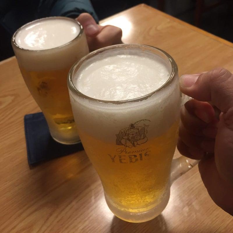 味処 栄清丸 えいせいまる 岡山県笠岡市中央町 生ビール 乾杯