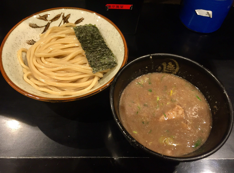 無鉄砲 つけ麺 無心 奈良県奈良市中町 豚骨つけ麺