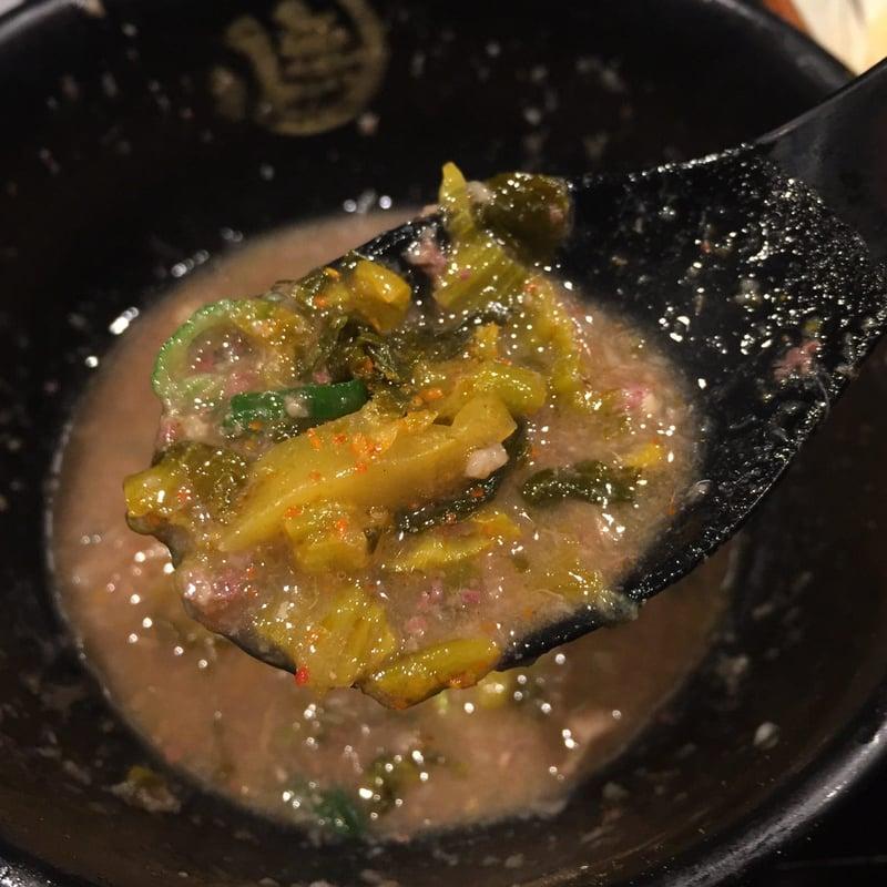 無鉄砲 つけ麺 無心 奈良県奈良市中町 豚骨つけ麺 つけ汁 スープ