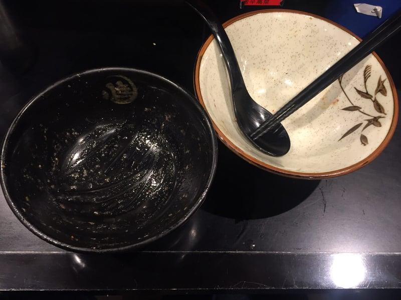 無鉄砲 つけ麺 無心 奈良県奈良市中町 豚骨つけ麺 完食