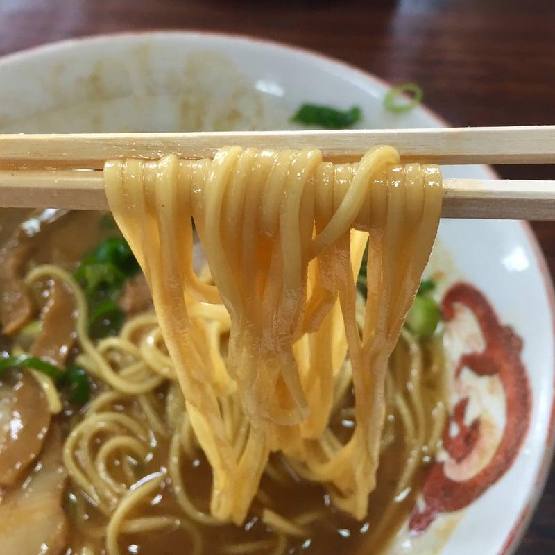 中華そば・めし うらしま うらしま食堂 和歌山県紀の川市花野 和歌山ラーメン 麺