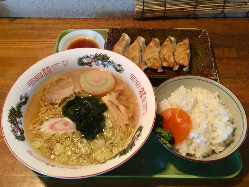 めん処 かくえん かくえんラーメン 秋田県湯沢市三梨町 餃子 ライス