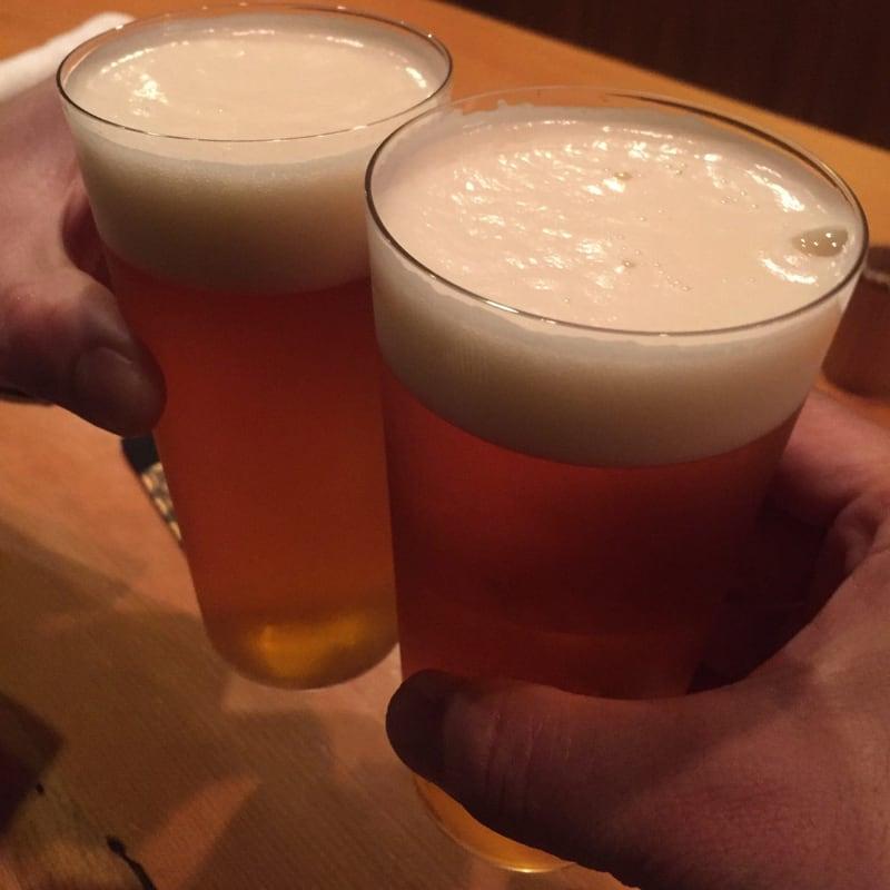 日本料理たかむら 秋田県秋田市大町 ガージェリーエステラ生ビール 乾杯