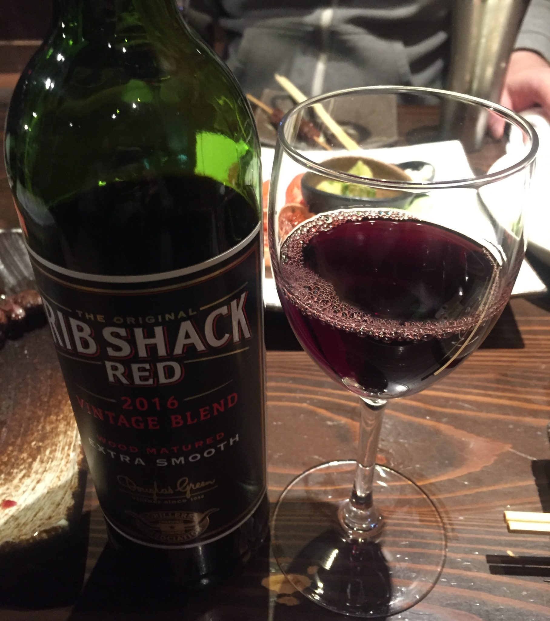 肉問屋 どでん舌 秋田県秋田市中通 肉専用赤ワイン リブ・シャック・レッド