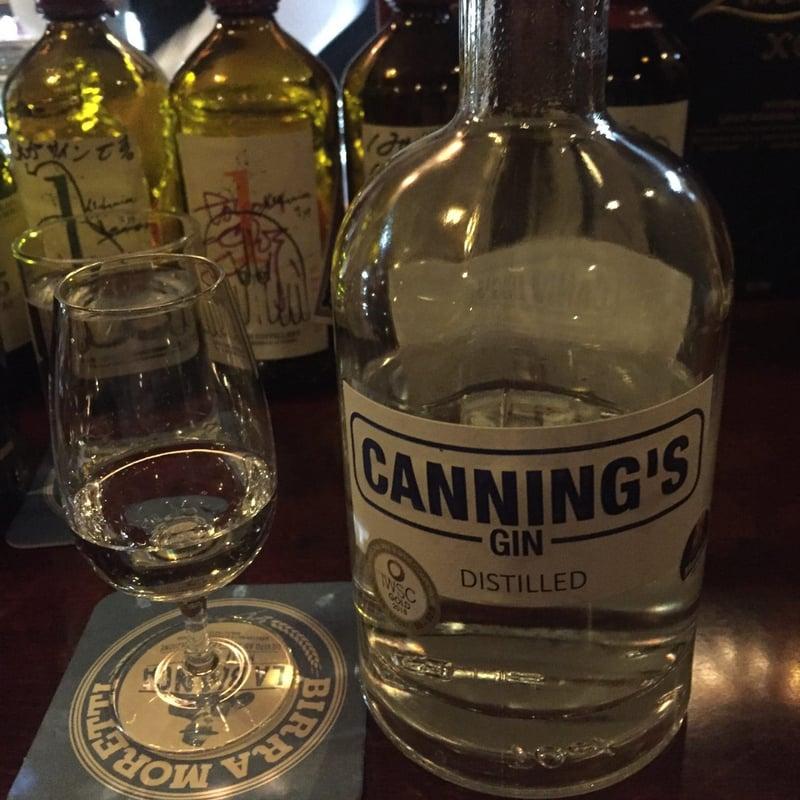 BAR USHIO ウシオ 潮 秋田県秋田市南通 カニングス ジン Gin Canning's
