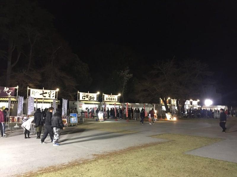 中華蕎麦とみ田 富田治presents 最強ラーメン祭in小山御殿広場 栃木県小山市