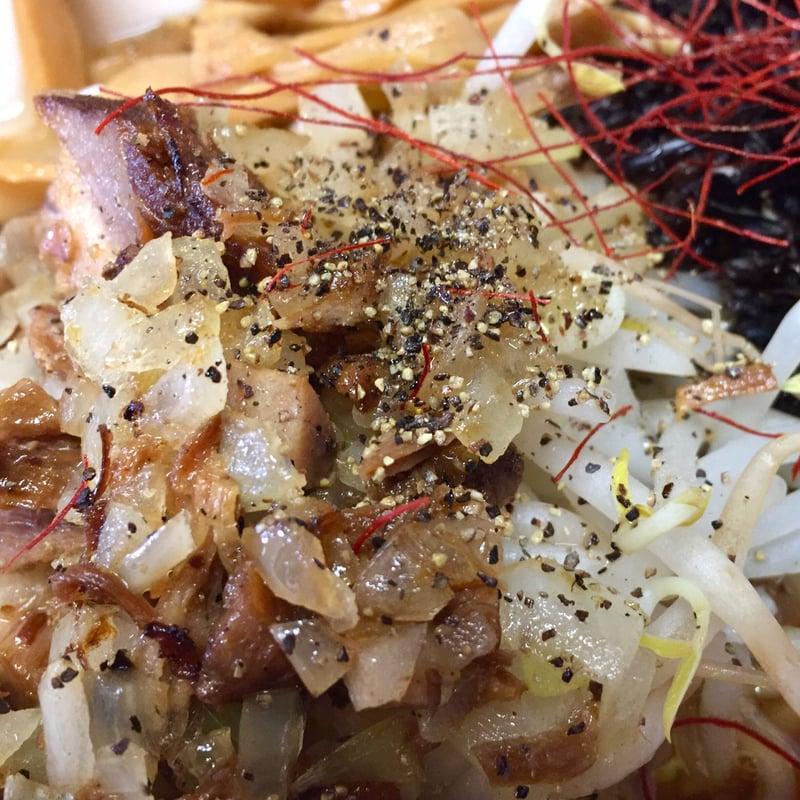 麺屋 鼓志 秋田県由利本荘市石脇 豚っ玉ネギラーメン
